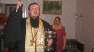 As performed the consecration of the apartment (house)