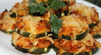 Простой рецепт кабачков с фаршем в духовке
