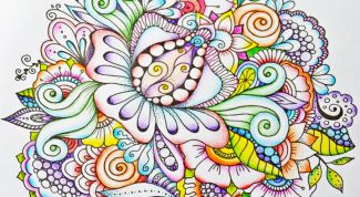Contemporary art therapy: anti-stress coloring pages for adults