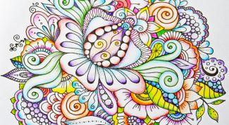 Современная арт-терапия: раскраски антистресс для взрослых