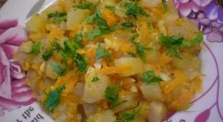 Как приготовить рагу из кабачков с сыром тофу