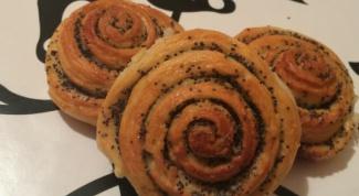 Очень вкусные булочки с маком