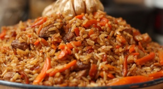 How to cook pilaf, the rice was crumbly