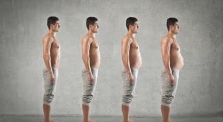 Причины появления живота у мужчин