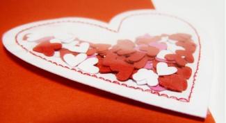 Две открытки с маленькими сердечками