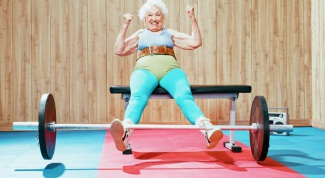 Morning exercises for the elderly