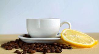 Можно ли пить кофе с лимоном