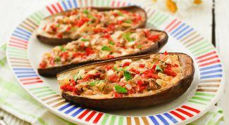 Постный рецепт: фаршированные баклажаны