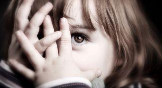 Распространенные детские страхи