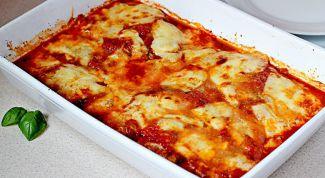 Куриные грудки по-итальянски в томатном соусе