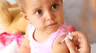 Реакция на прививку у детей