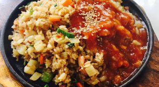 Как приготовить обычный рис очень вкусно