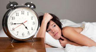Insomnia: symptoms and treatment