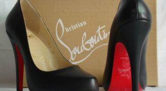 Как отличить натуральные туфли Christian Louboutin