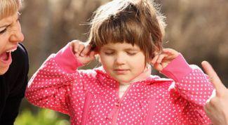 Какие фразы не следует говорить ребенку