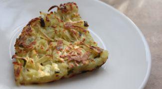 Как приготовить китайский картофельный блинчик