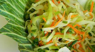 Вкусные и полезные салаты из капусты