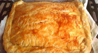 Пироги с машем, морской капустой и утиной грудкой