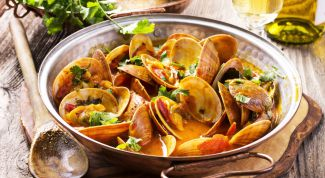 How to cook mussels with white wine