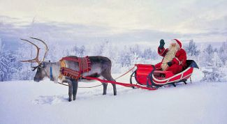 In Finland, Santa Claus