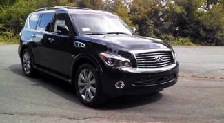 Test drive the Infiniti QX80: Heavyweight