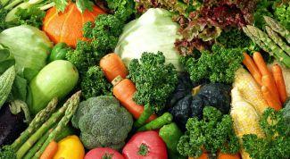 Use vegetables