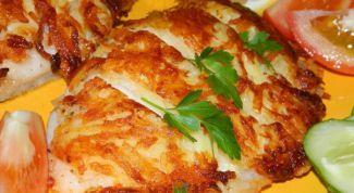 Филе нерки в сливочно-сырной корочке
