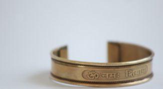 Как и зачем носить медный браслет