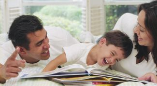 Features styles in family education