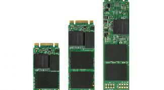 Новый мини-SSD с большим объемом от Transcend