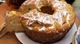 Антикризисный рецепт кулича к празднику Светлой Пасхи