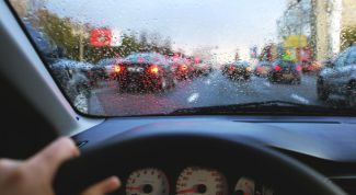 How to stop being afraid to ride in the rain on a car while driving?
