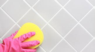 Как отмыть плитку в ванной от налета в домашних условиях