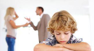 Как сказывается развод родителей на успехах детей