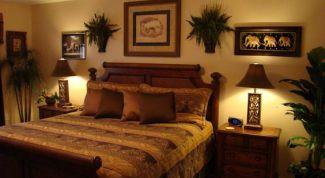 Как оформить спальню в стиле сафари