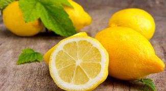 Why in cooking is so important lemon?