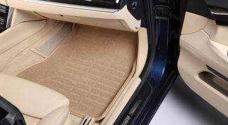 Как выбрать коврик для салона автомобиля