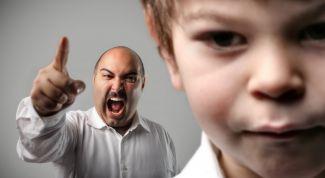 Учимся не кричать на ребенка