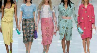 Модные тенденции весны 2016 года