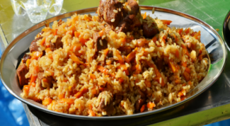 The secrets of delicious pilaf