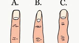 Что форма пальцев расскажет о характере человека