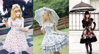 Select the closet in the Lolita style
