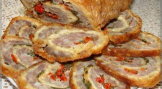 Как приготовить мясной рулет: рецепты