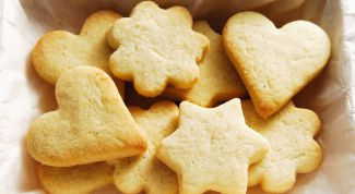 Christmas cookies from scrap products