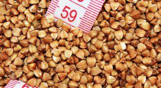 Buckwheat monodiet