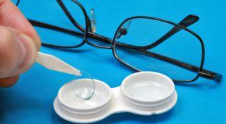 Растворы для ухода за контактными линзами