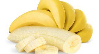 Bananas and breastfeeding