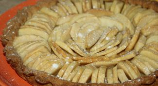 Рецепт веганского яблочного тарта