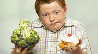 Диетическое питание для детей с избыточным весом