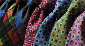 Как мужчине правильно выбрать галстук?